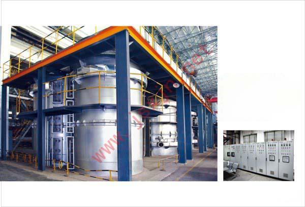 高温井式电阻炉加热部件
