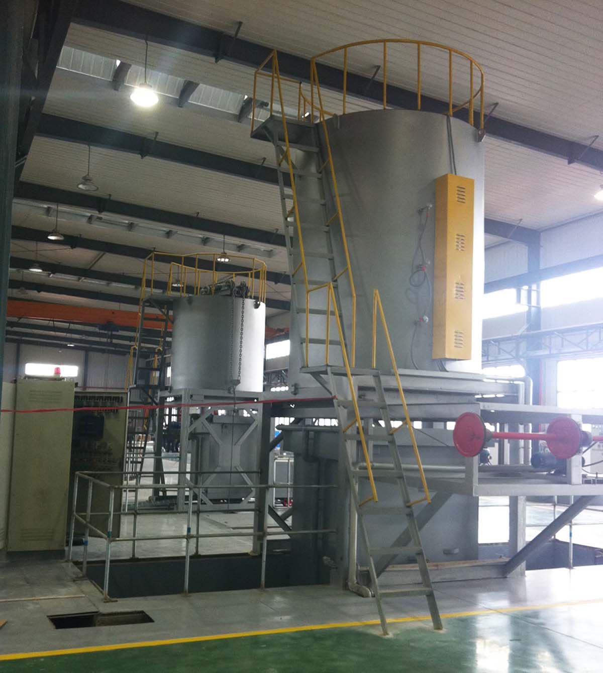 jing式铝合金固溶炉